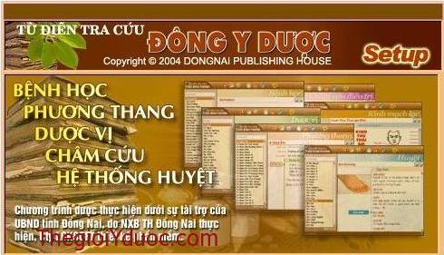CD Từ điển Đông Y dược
