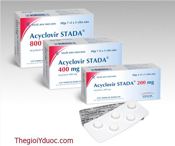 Acyclovir STADA® 200mg/400mg/800mg