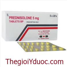 PREDNISOLON 5 mg