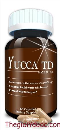 YUCCATD - Điều trị bệnh Gout