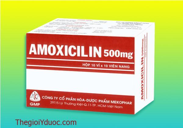 AMOXICILIN 500mg