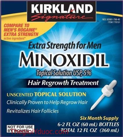 Minoxidil 5% Kirkland