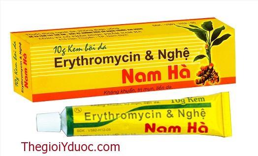 Erythromycin & nghệ