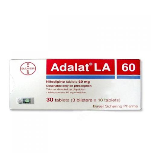 ADALAT LA CAP 60MG